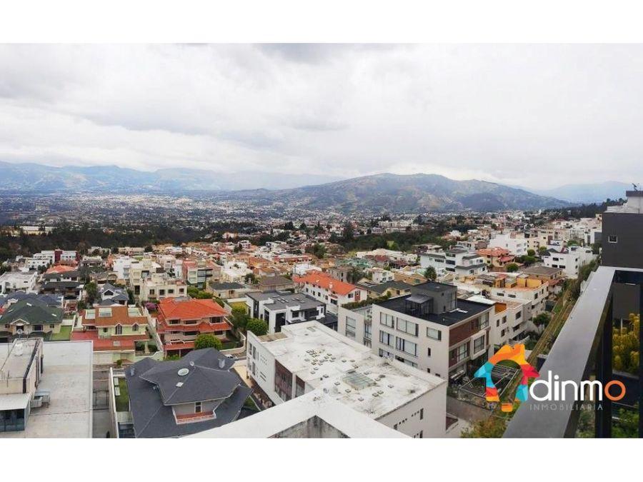 departamento arriendo cumbaya vista panoramica 2 dormitorios