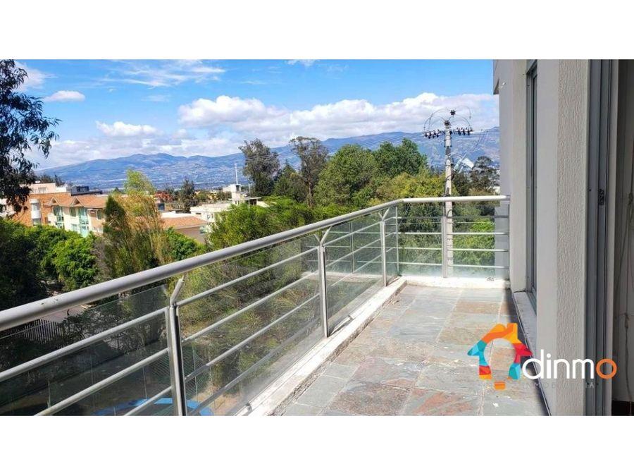 departamento 3 dor hermosa vista balcon canchas arriendo cumbaya