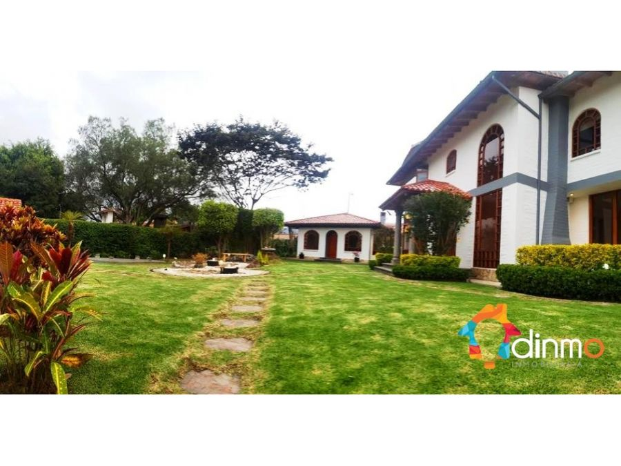 garden house for rent cumbaya quito for diplomat and expats