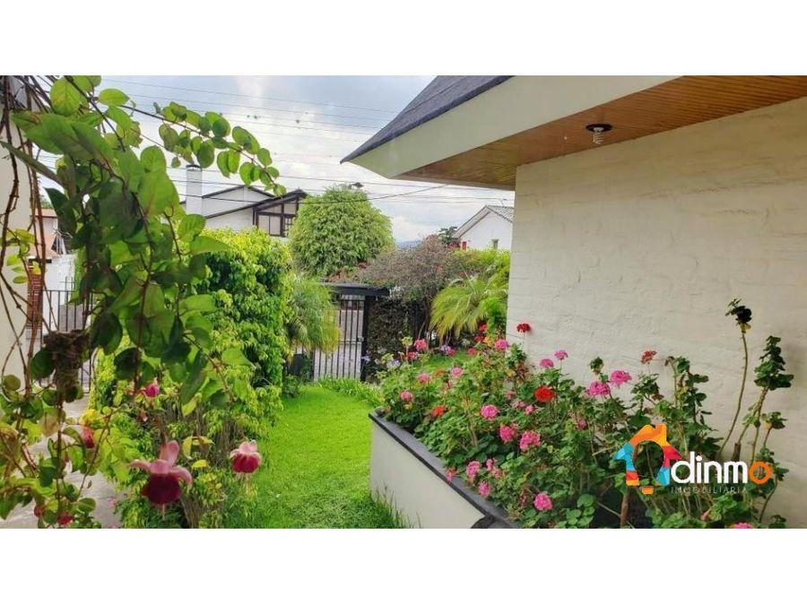 cumbaya jardines del este casa en venta