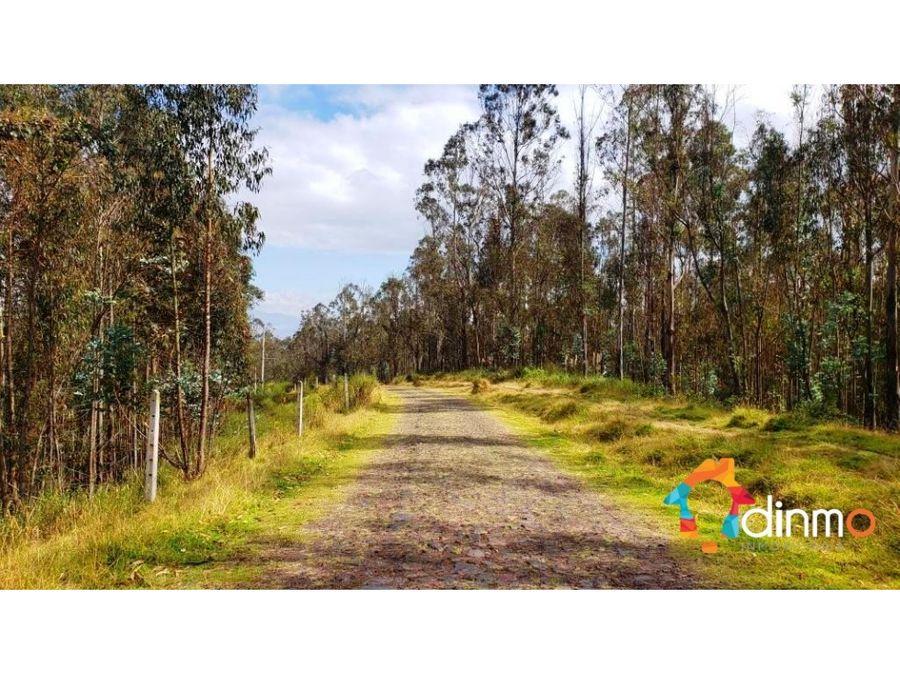 finca venta yaruqui con hermosa vista 1 hectarea reservorio vendo