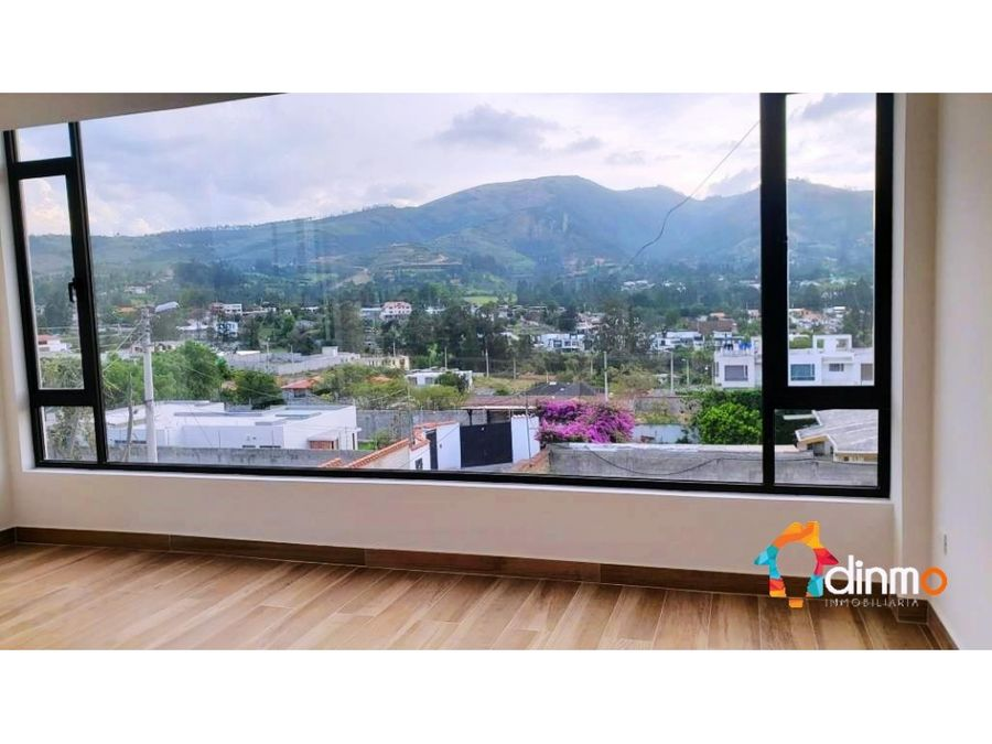 departamento nuevo por estrenar tumbaco 3 dormitorios vista
