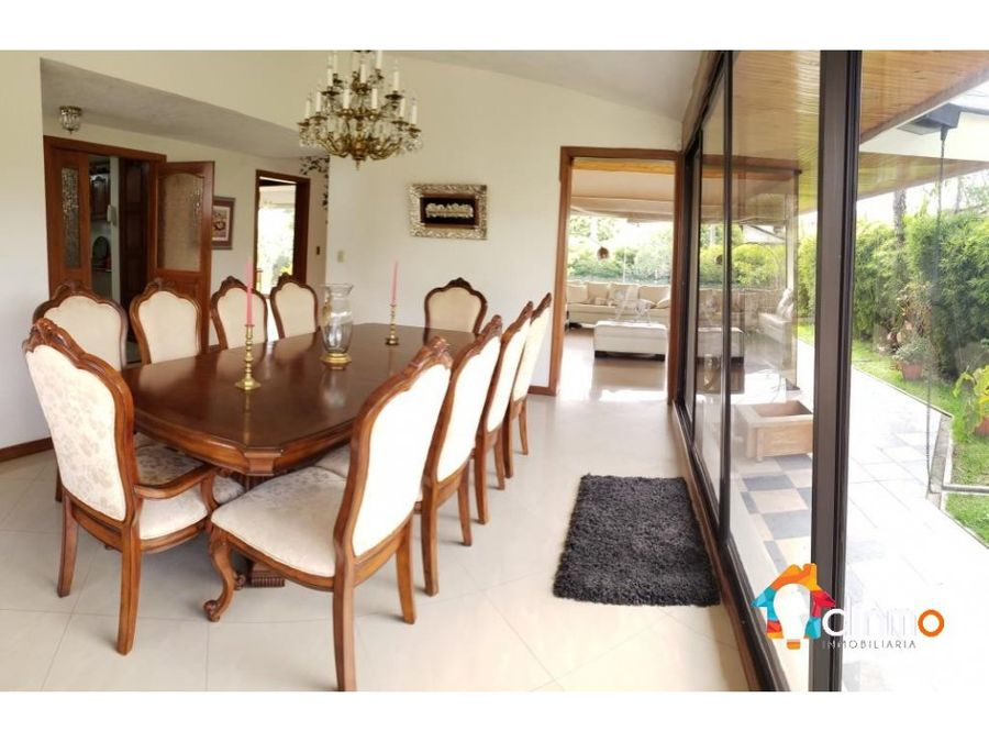 garden house furnished casa en arriendo