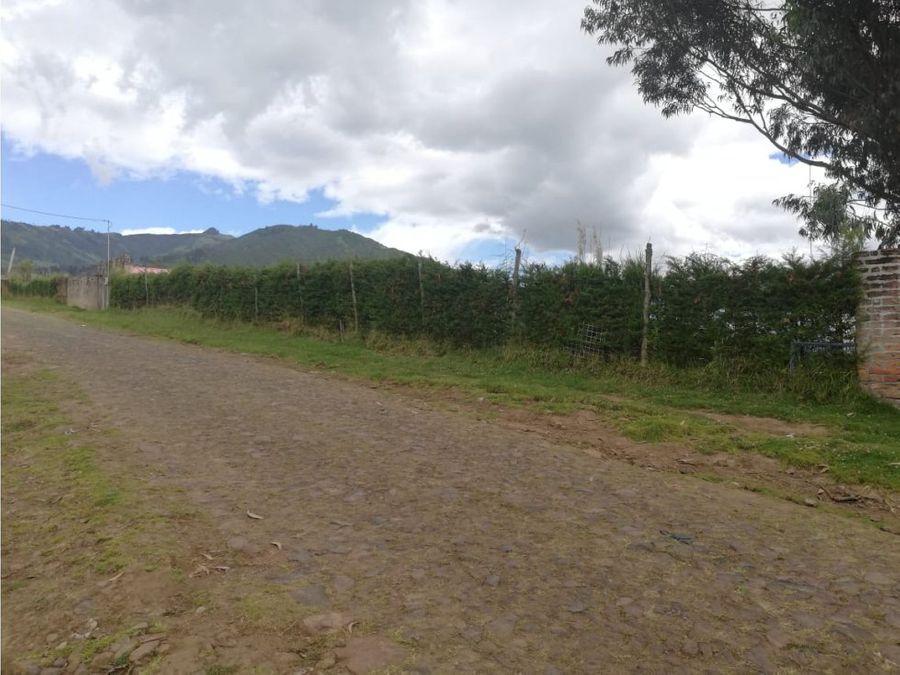 quinta terreno venta yaruqui con hermosa vista 1 hectarea