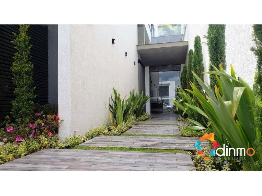 departamento urb vista grande cumbaya 120 m2 balcon y area verde