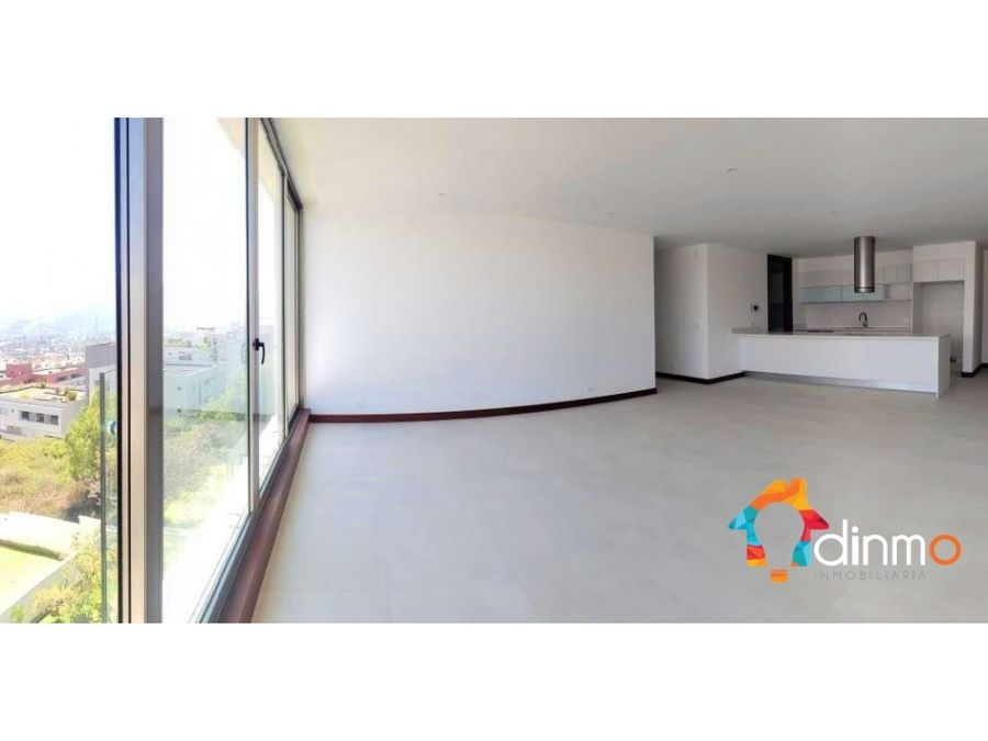 vista panoramica departamento esquinero a estrenar en venta cumbaya