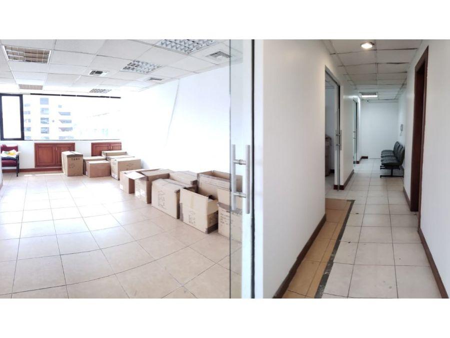 oficina 115 m2 en arriendo la carolina