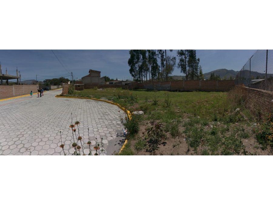terreno 1000 m2 independiente en de venta tumbaco la morita