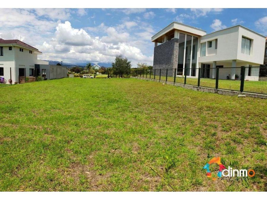 terrenos en venta 800 y 1000 m2 tumbaco cumbaya vina del chiche