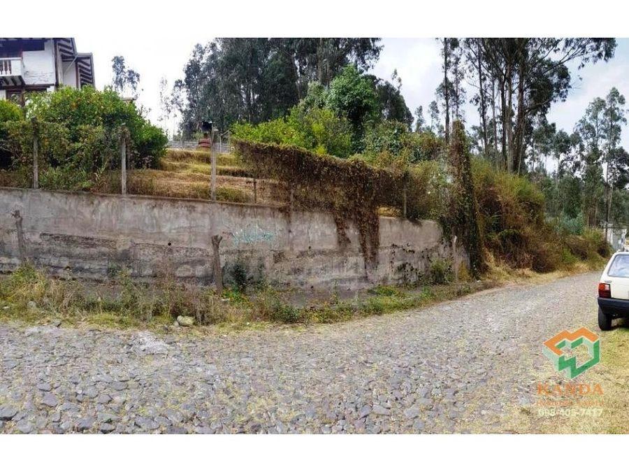 terreno valle chillos en venta 1000 m2