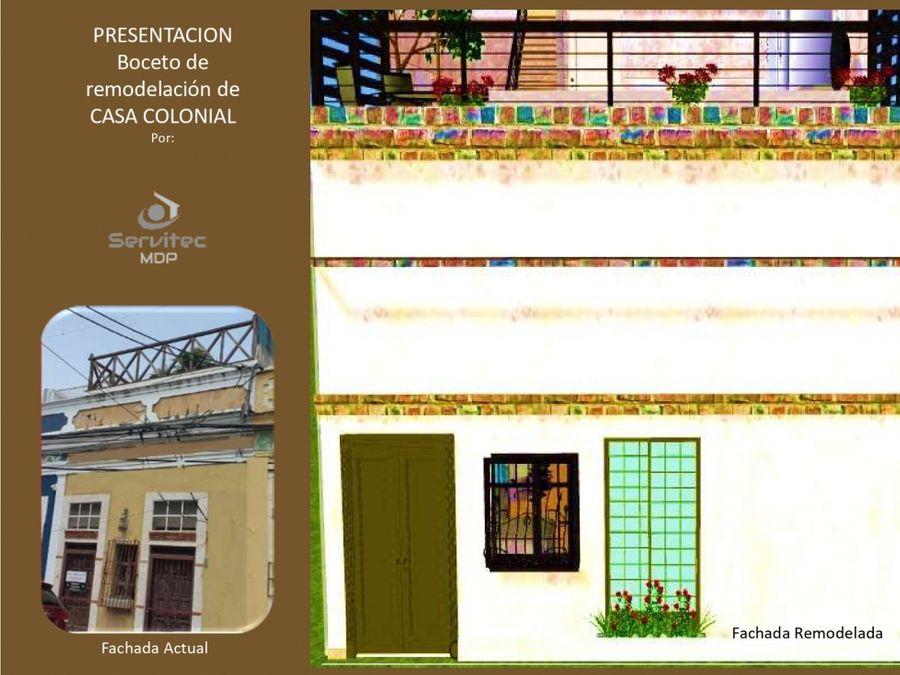 encantadora casa colonial 4 habitaciones