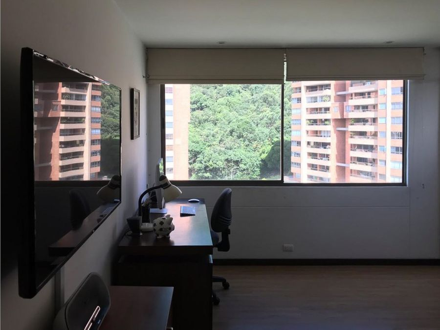 apartamento en el poblado la calera con oficina