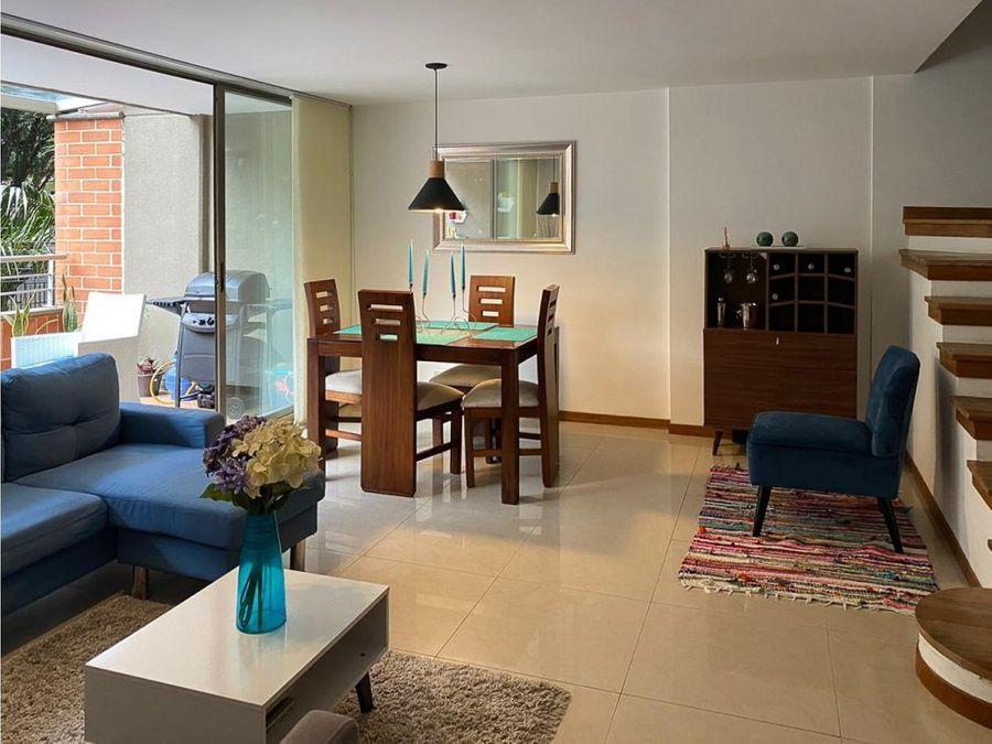 apartamento con terraza urbanizacion allegro san lucas el poblado