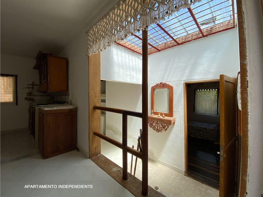 casa independiente en el retiro sector la fevencambio