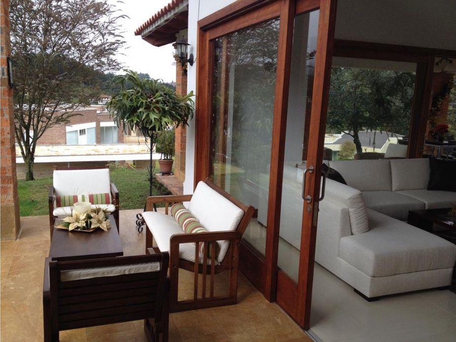 venta excelente y exclusiva casa en alto de las palmas valle alto