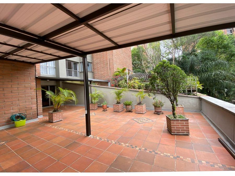 apartamento en venta en suramericana con gran terraza negociable