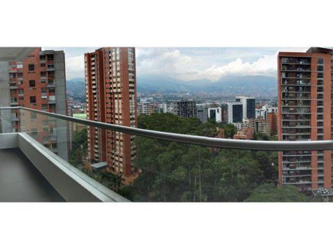 venta apto santa fe poblado 114 mts piso 18
