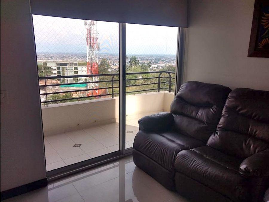 hermoso apartamento con vista a la ciudad oeste de cali
