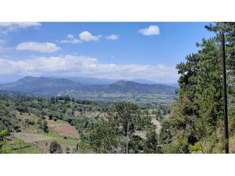 solar de 1000 mts con impresionante vista a jarabacoa y sus montanas