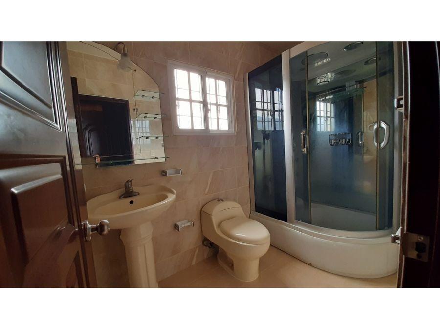 hermosisima casa en venta en urb hernandez jarabacoa