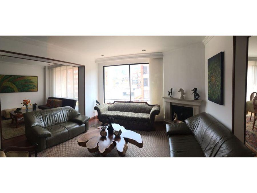 apartamento en venta chico reservado bogota