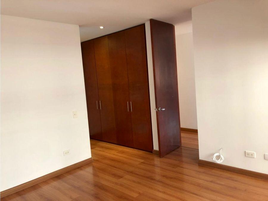 apartamento en arriendo chico bogota
