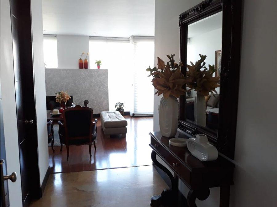 apartamento en venta santa barbara central bogota
