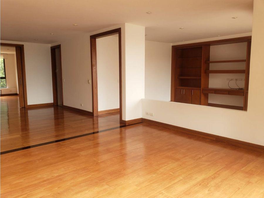 apartamento en arriendo santa barbara alta bogota