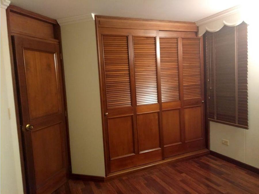 apartamento en venta los cedros bogota