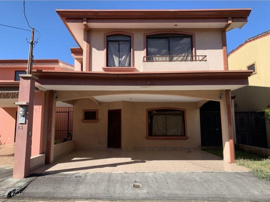 casa en condominio villa colonial mercedes