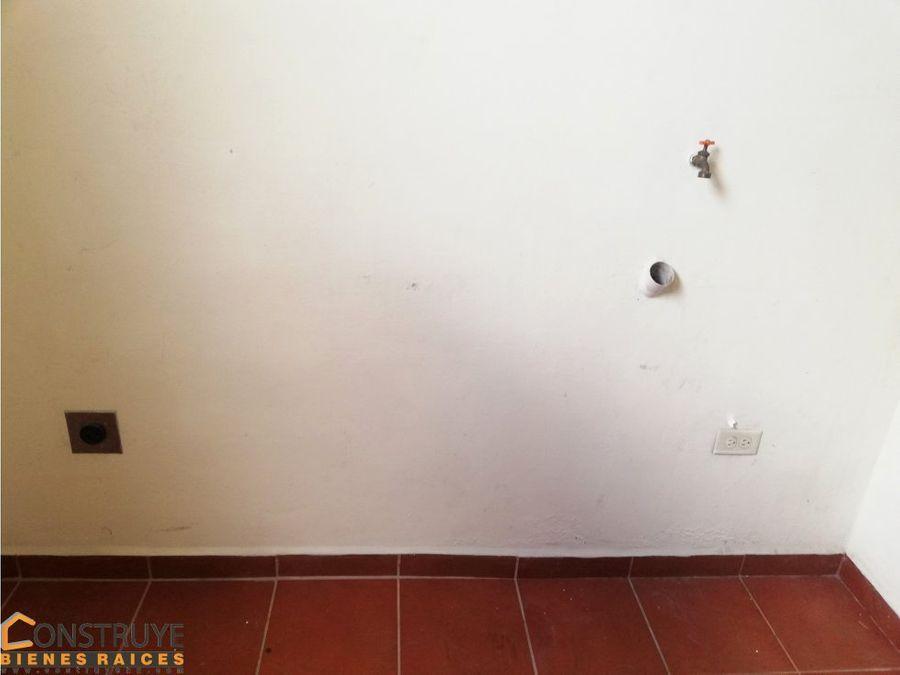 apartamento en residencial el trapiche