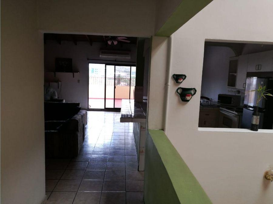 se alquila apartamento amueblado en loma verde