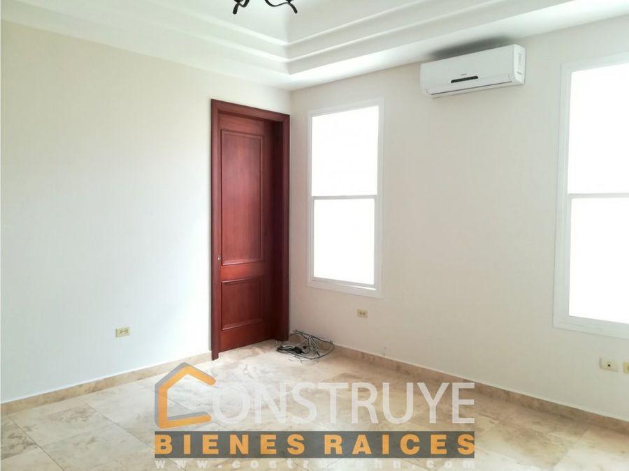 renta de apartamento en residencial la hacienda