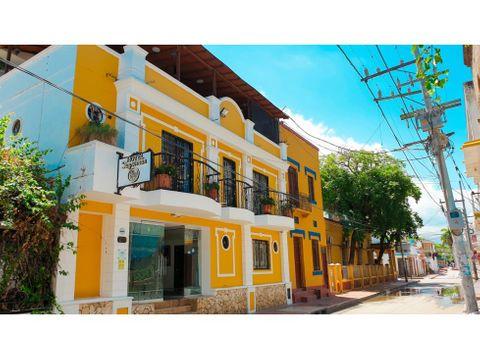 hotel para venta en el centro historico de santa marta