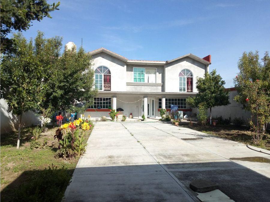 venta casa residencial en atlihuetzia obra blanca