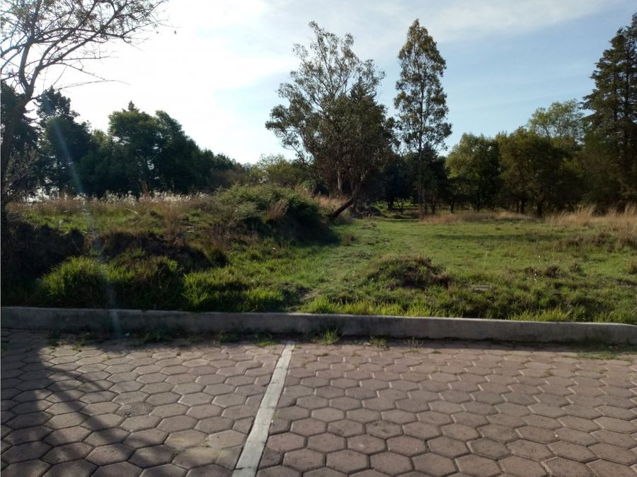 venta de terreno en san lucas cuauhtelulpan