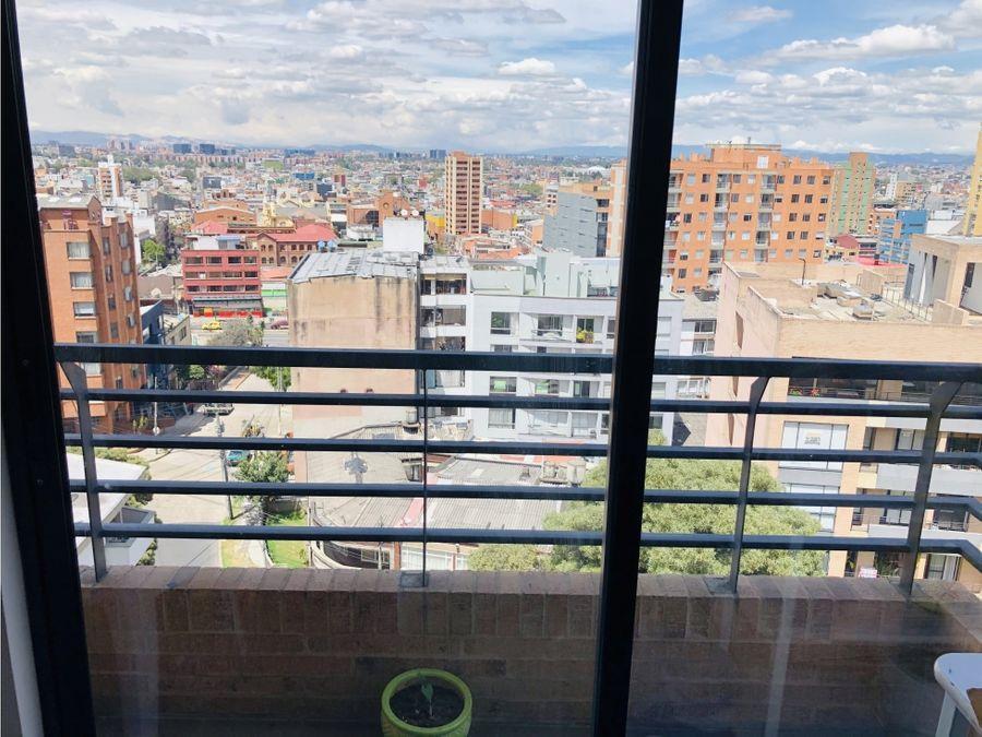 apartamento con vista panoramica en chapinero alto