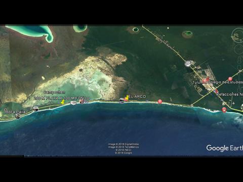 tulum en venta excelentes terrenos con playa
