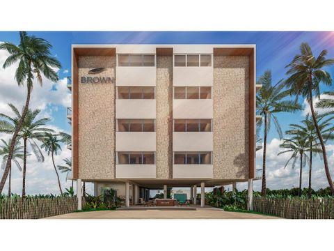 se vende brown luxury beach front condos resort san benito yucatan