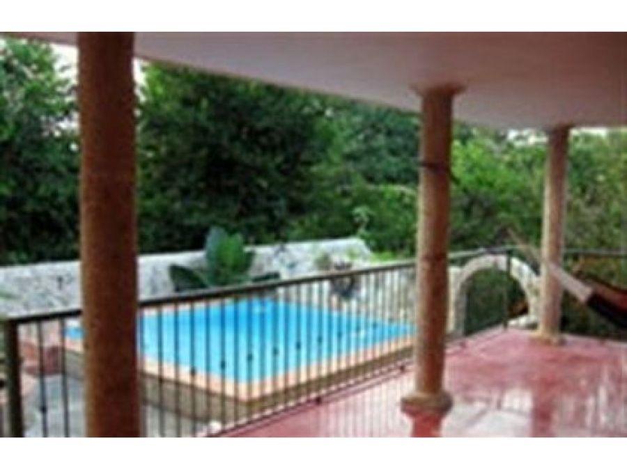 se vende hotel rustico en valladolid yucatan