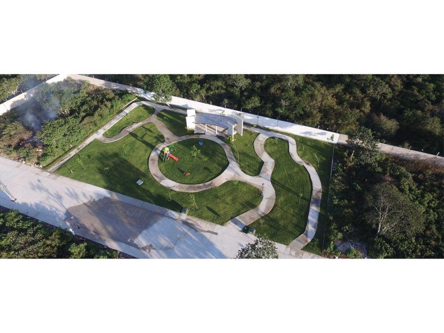 terrenos en venta villa real temozon norte
