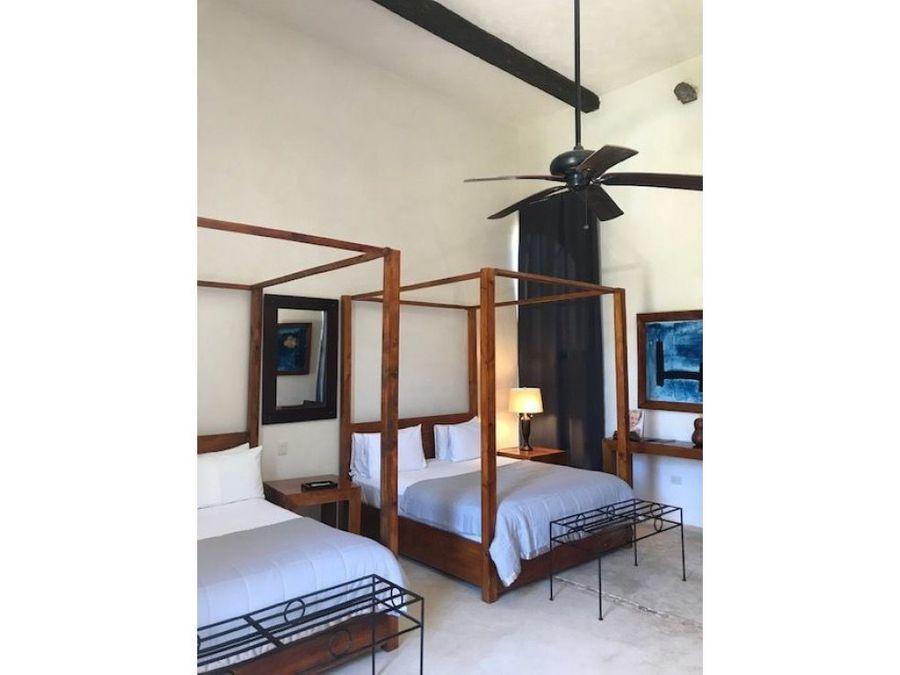hacienda hotel boutique en venta