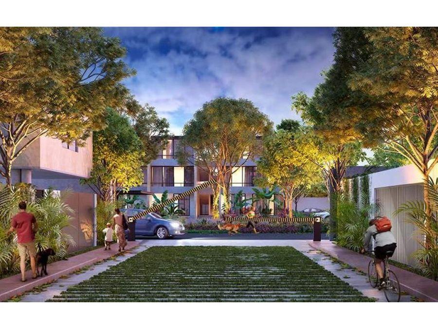 townhouse en venta kanahil comunidad urbana