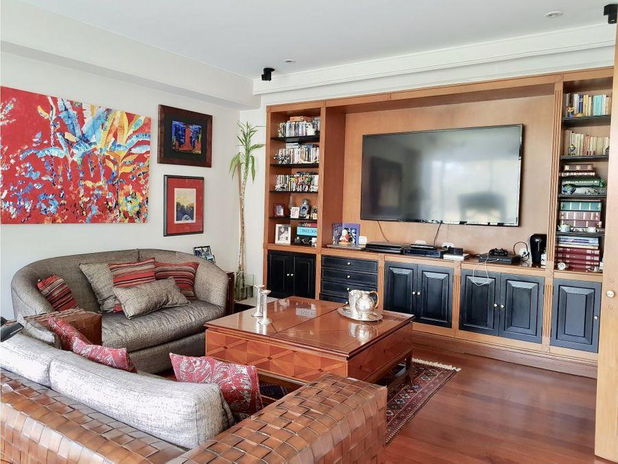 exclusivo apartamento en venta en la cabrera