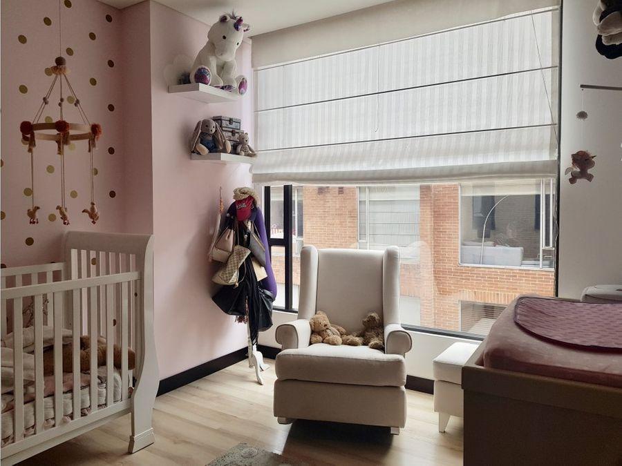 arriendo vendo apartamento en chico amoblado