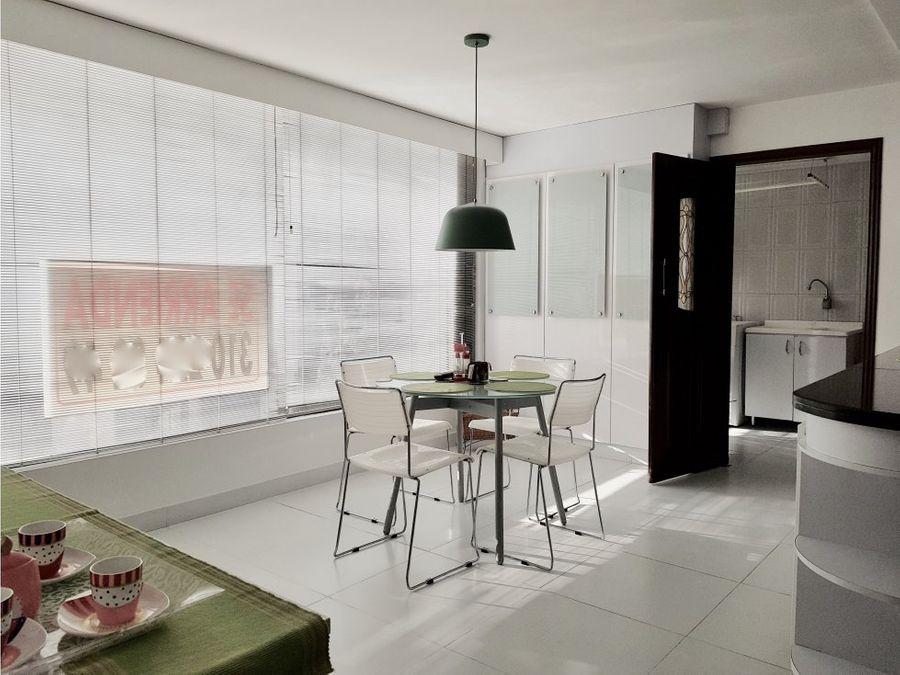 elegante apartamento en venta o arriendo