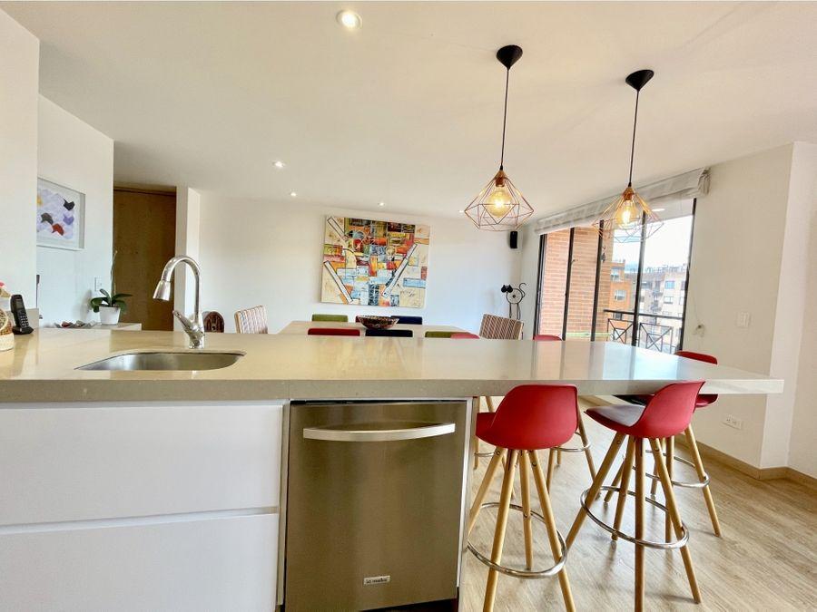 apartamento remodelado con terraza 167mt2