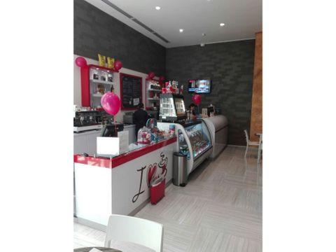 cafeteria en venta funcionando en hilton panama