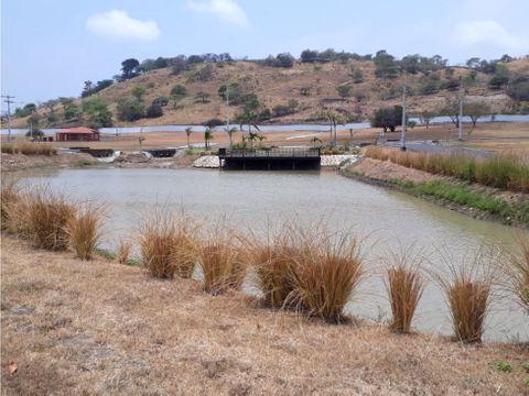 terreno en venta en chame con vista al lago