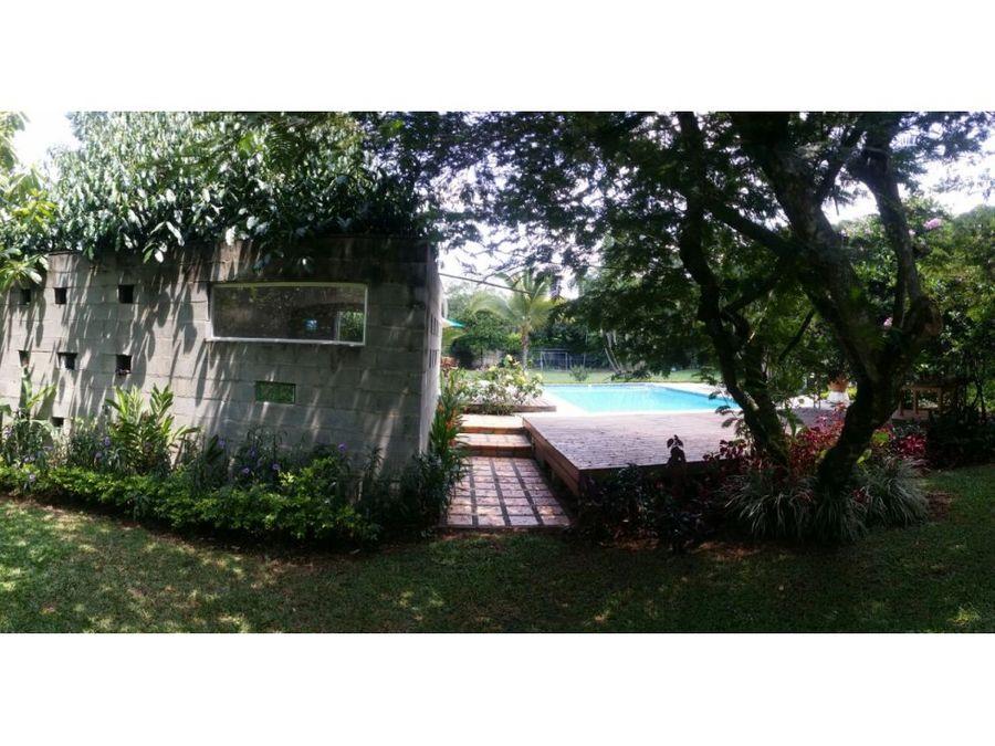 hermosa casa campestre ubicada en pance epg